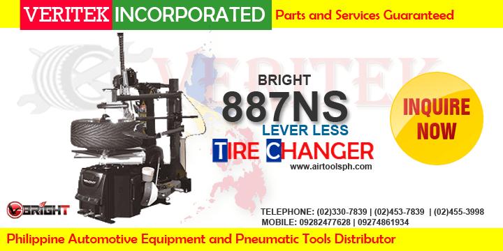Bright 887Ns Leverless tire changer machine