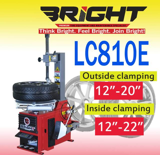 For sale and buy the most affordable Bright LC810E Tire changer in Philippines-davao-cebu-cagayan-de-oro-metro-manila