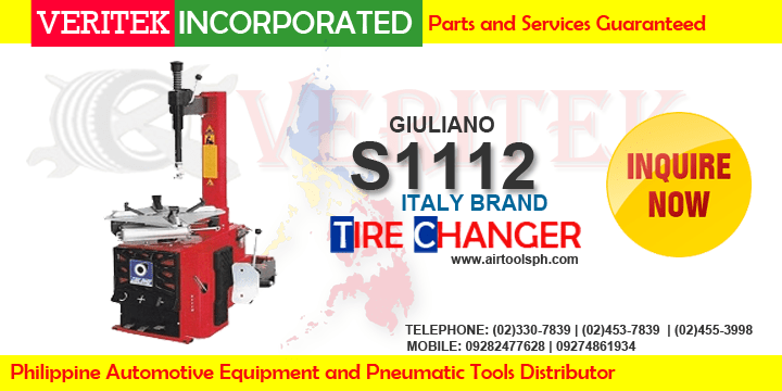 Giuliano S1112 Tire changer For sale