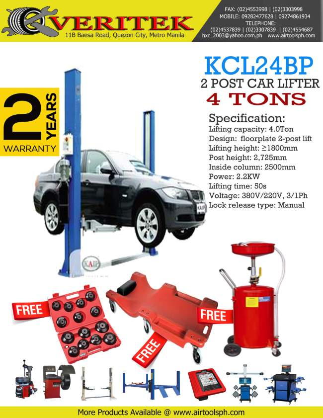 kcl24bp-2-post-car-lifter-for-sale-in-philippines