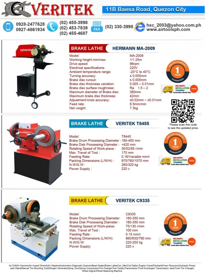 FOr sale Brake lathe machine in high quality and easy to use and affordable