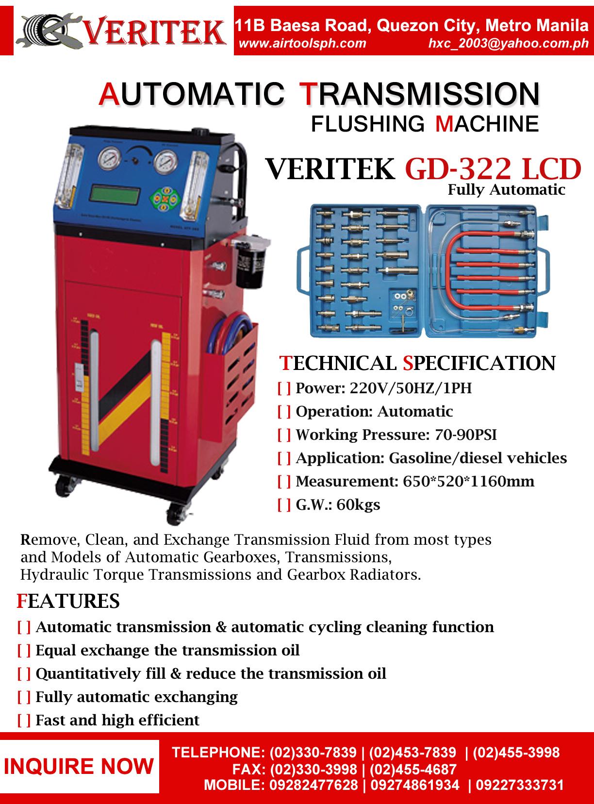 92500 transmission fluid exchanger,advantage transmission fluid exchanger,auto transmission fluid exchange cost,