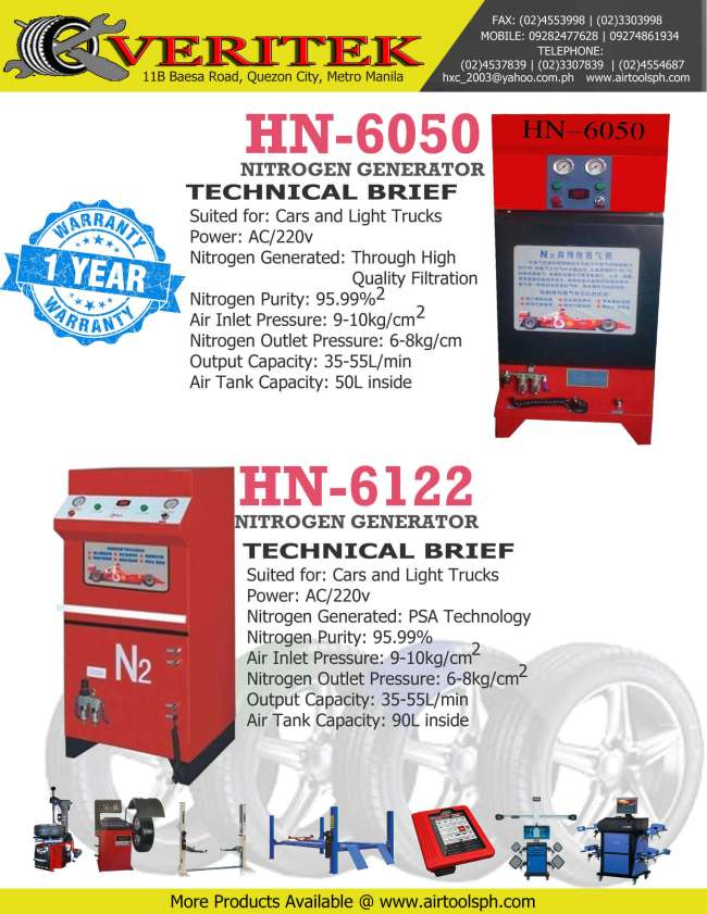nitrogen-generator HN-6050 for sale in Philippines