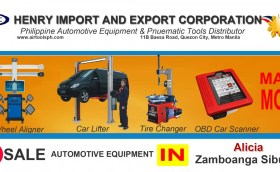 For sale Automotive Equipment and in Alicia Zambonga Sibugay-Car lifter-tire changer-wheel aligner-scanner-engine-car