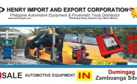 For sale Automotive Equipment in Dumingag Zambonga Sibugay-Car lifter-tire changer-wheel aligner-scanner-engine-car