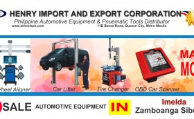 For sale Automotive Equipment in Imelda Zambonga Sibugay-Car lifter-tire changer-wheel aligner-scanner-engine-car