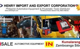 For sale Automotive Equipment in Kumalarang Zambonga Sibugay-Car lifter-tire changer-wheel aligner-scanner-engine-car