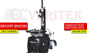 BRIGHT BP870N TIRE CHANGER MACHINE VERITEK PHILIPPINES BLUECHIP HUNTER CORGHI