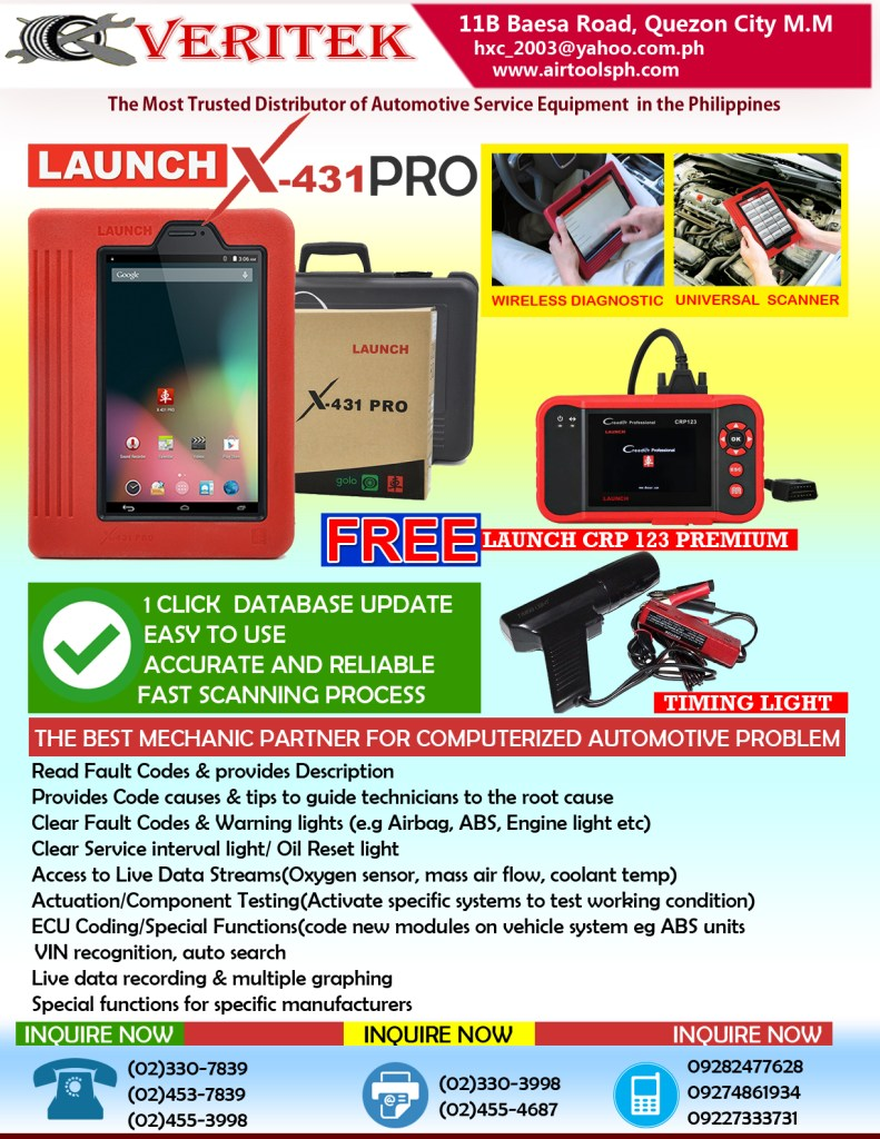 LAUNCH X431 PRO 2017 DEALS