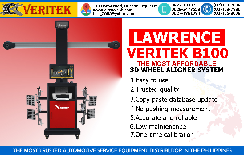 LAWRENCE VERITEK B100