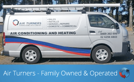 Air Turners A/C Service Van