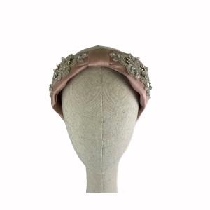 diadema turbante modelo Amira