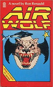 airwolf book ron renauld 1985