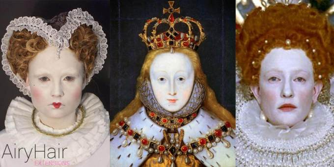 women's makeup throughout the history (part 1)