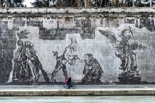 """RAI ITALIA: LA STREET ART ROMANA ANCORA PROTAGONISTA DELLO SPECIALE DI """"CAMERA CON VISTA"""""""