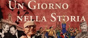 """RAI ITALIA: UNA NUOVA SETTIMANA IN COMPAGNIA DI """"UN GIORNO NELLA STORIA"""""""