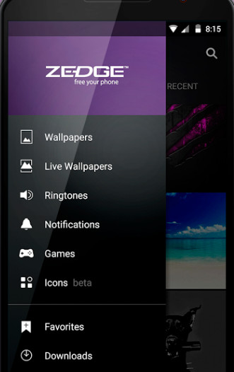 Top 21 Zedge Apps Free Download Ringtones Wallpapers for iPhoneAndroid