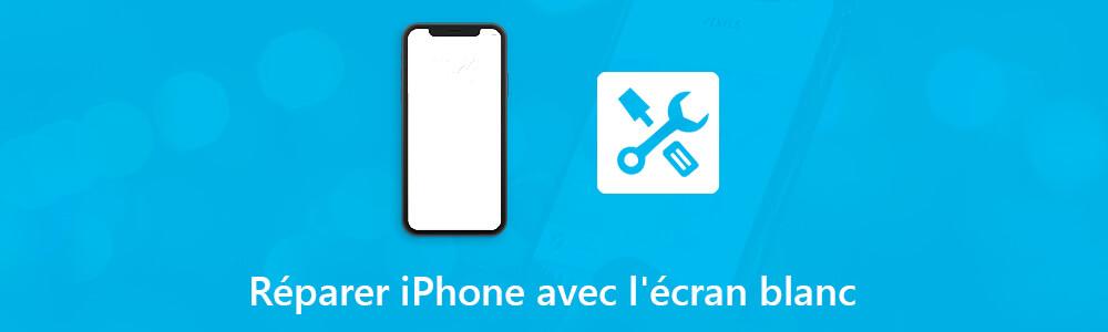 iphone d ecran blanc