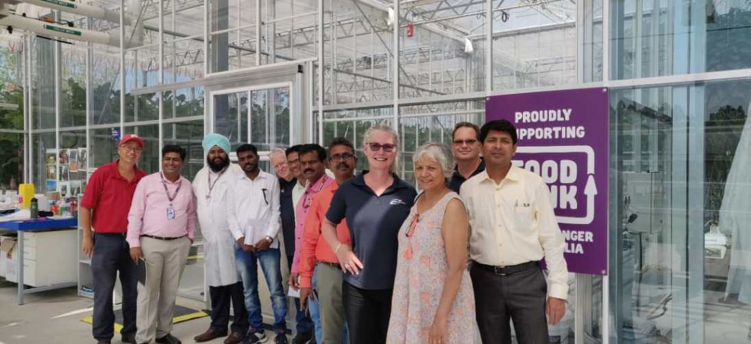 WSU Professor Priti Krishna (2nd from right) organised a whole week of activities for her Centurion colleagues, including three days of training by Greenworks.