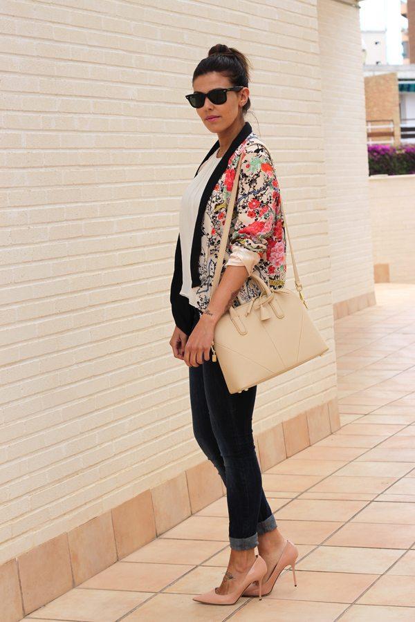 Outfit Kimono floral - Aishawari.com