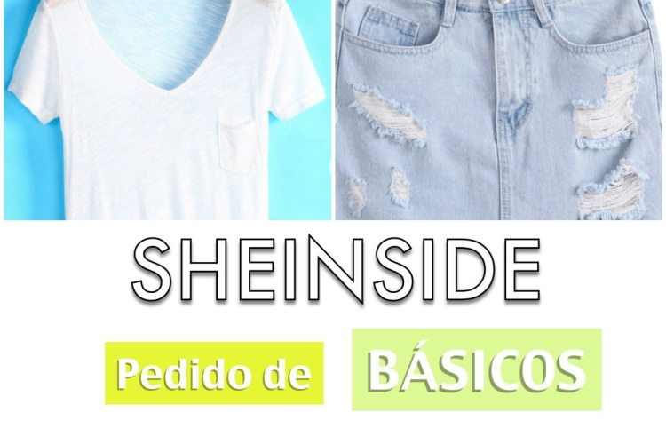 SHEINSIDE: Pedido de básicos