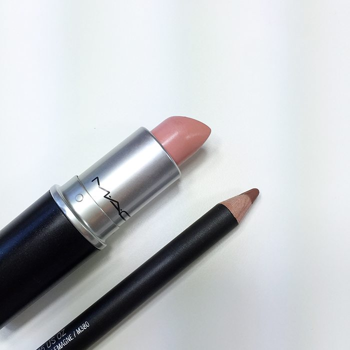 Perfect combo nude lips