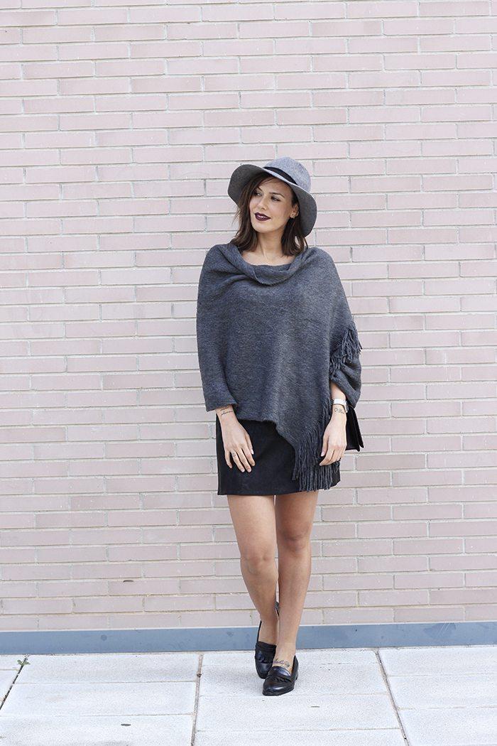 Outfit otono en grises