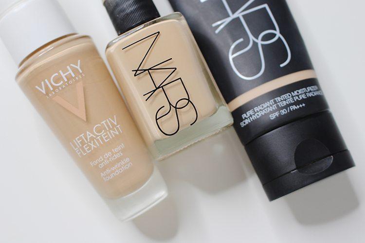 Bases de maquillaje favoritas