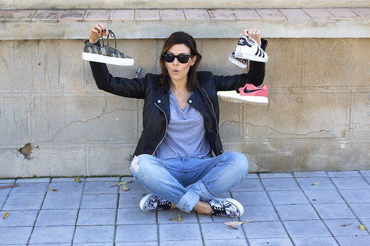 MODA: zapatillas deportivas