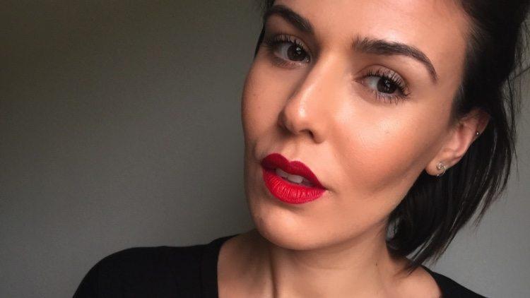 Los labiales rojos están de moda