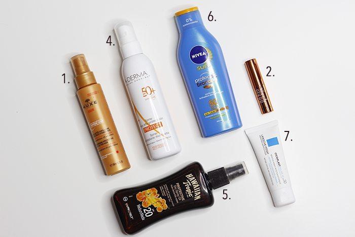 Productos para broncearse