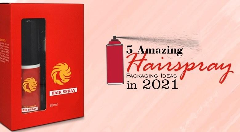 Hairspray Packaging
