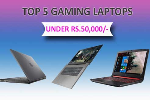 Top 5 Laptops that come under 50,000