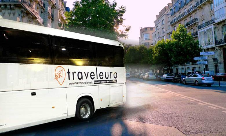 London to Paris by bus