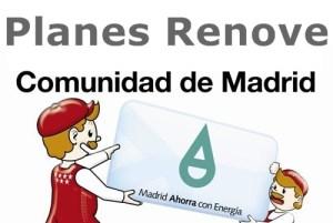 Planes Renove Comunidad de Madrid