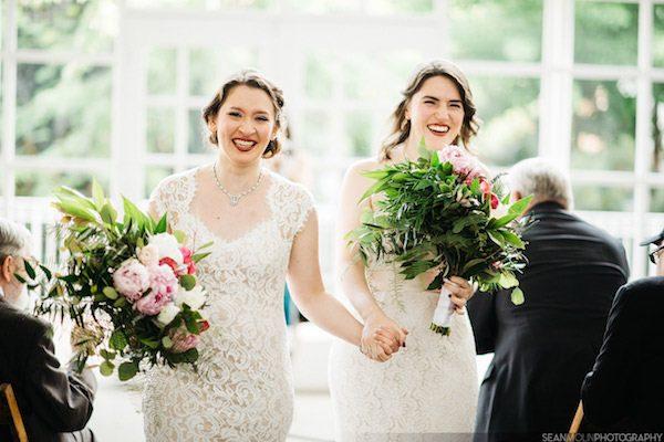 LGBTQ wedding Chicago Illinois wedding planner day-of-coordination Aisle Less Traveled