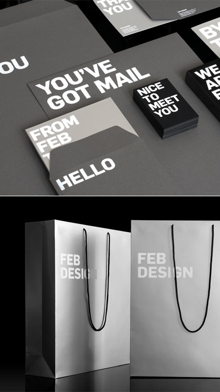 Feb design stationery