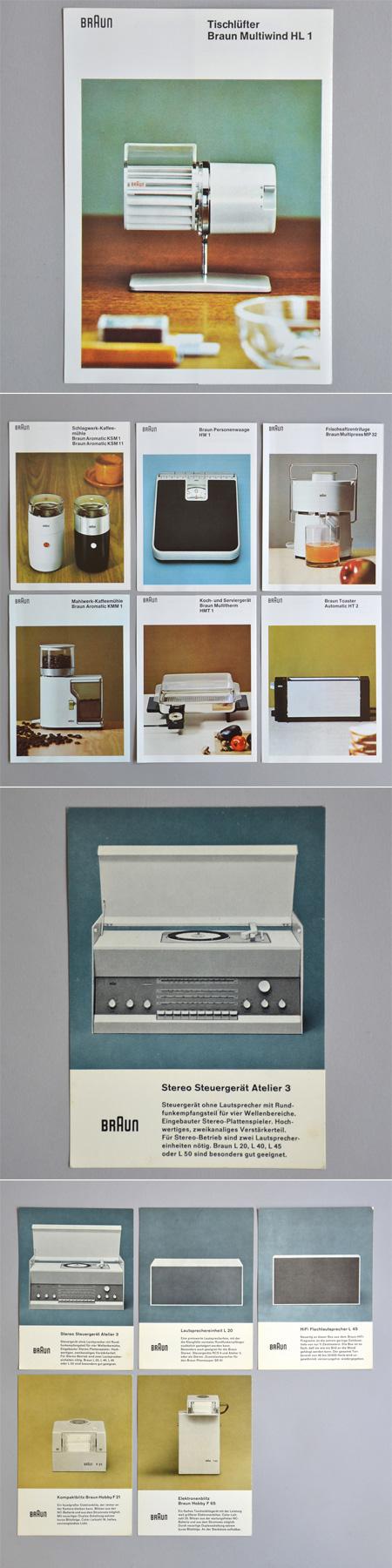 Braun Brochures