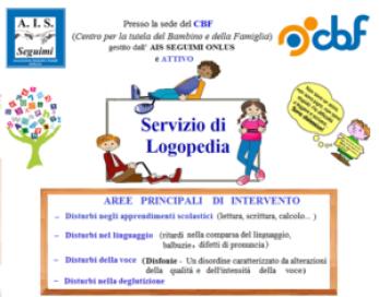 Servizio di Logopedia presso il CBF di Portici (NA)