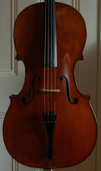 Carlo Antonio Testore cello front