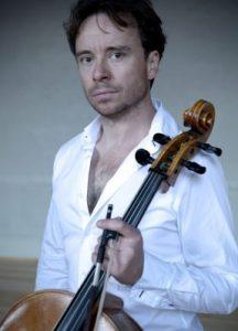 Matthew Sharp with Robin Aitchison cello