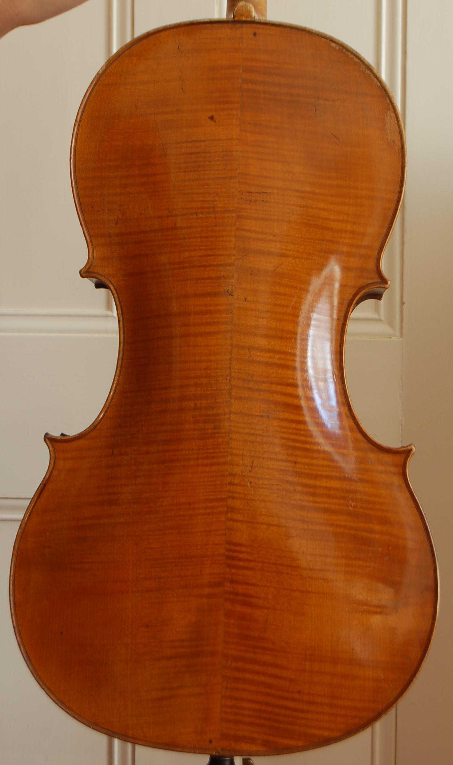 guersan school cello back