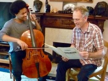 Ben Davies and Sheku Kanneh-Mason BBC Young Musician