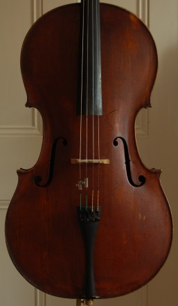 Peter Wamsley cello front