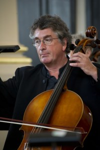 Stephen Orton, owner of a Robin Aitchison cello