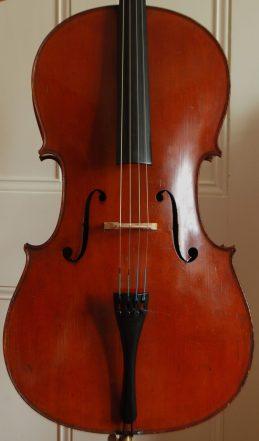 Mirecourt cello front