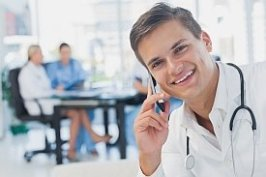 Conference calls for Health Care Professionals