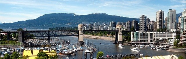 Vancouver Bridge Columbia British Canada