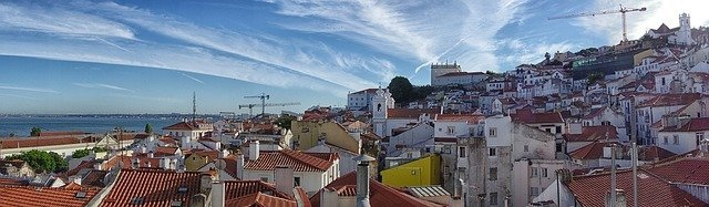 Lisbon Portugal Panorama