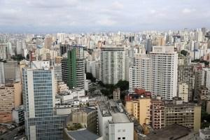 Brazil Sao Paulo City View